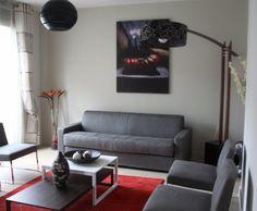 Photo Deco : Salon  Gris  Moderne   AppartHotel Aime A Paris