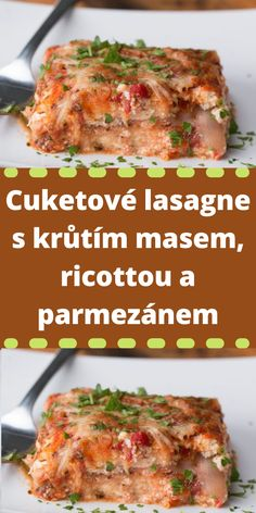 Ricotta, Zucchini, Meals, Food, Casserole, Meat, Meal, Essen, Yemek