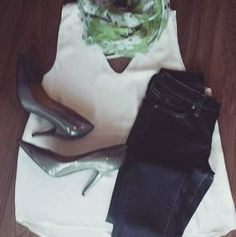 #ootd   Shezingaboutique.com Ootd, White Tank, Boutique, Tank Tops, Clothes, Style, Fashion, Outfit, Halter Tops