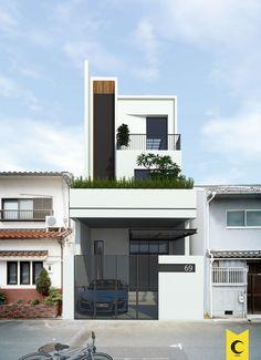 Tổng hợp một số mẫu nhà phố do Moon thiết kế và thi công
