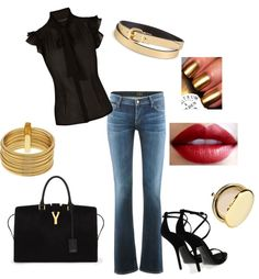 """ladies night"" by yanezvieyra on Polyvore"