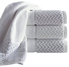Vespucci Luxury Towel Set - traditional - towels - by Luxor Linens