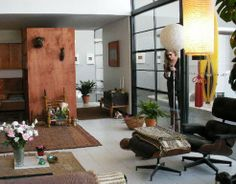 Exclusive Look at Charles & Ray Eames' Home in Los Angeles : TreeHugger