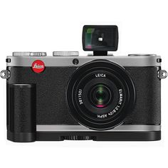 Used Leica X1 Digital Compact Camera With Elmarit 24mm 18420 B&H