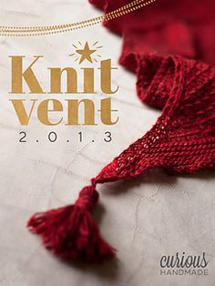 Curious Knitvent 2013- currently free with your Knitvent 2014 purchase- get your #giftingzen on!