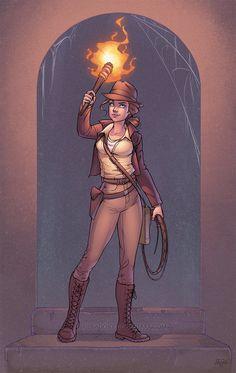 Indiana Jones by J-Skipper on DeviantArt