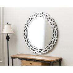 Found it at Wayfair - Round Wall Mirror