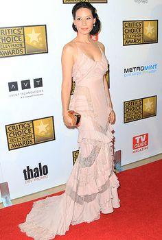 Lucy Liu in Versace