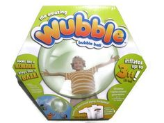 Kids Ball Toy Wubble Bubble Green Fun for Outdoors. Great fun color perfect for indoors and outdoors fun!