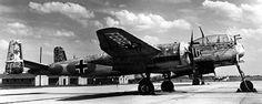 Heinkel He 219 Uhu (Eagle-Owl) Night-Fighter.