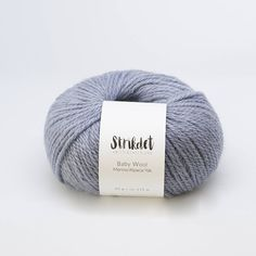 STRIKDET Baby Wool - light blue