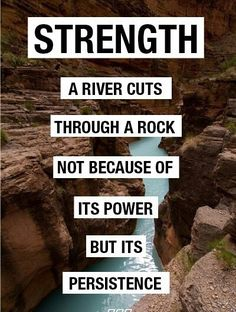 You have the strength of a rushing river, determinedly creating the change you want in your life! #BulimiaTreatment #EatingDisorderRecovery IS possible!