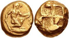 CNG: eAuction 391. MYSIA, Kyzikos. Circa 550-450 BC. EL Stater (16.5mm, 15.99 g).