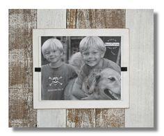 Wood Frame 15 x 18 reclaimed wood Cape Cod by beachframesshop