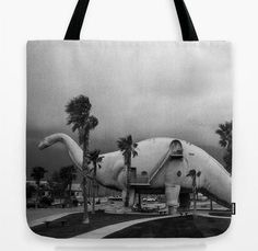 2014 Gift Guide | Your Best Friend. Roadside dinosaur tote bag.
