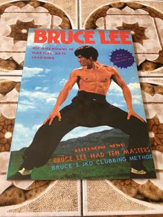 Brand New Outstanding Features Alert Bruce Lee Museum Booklet-  Kung Fu Art Life 52 Pages