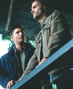 Jensen Ackles as Dean Winchester, Jared Padalecki as Sam Winchester Supernatural Supernatural Pictures, Supernatural Quotes, Supernatural Tv Show, Supernatural Seasons, Supernatural Bunker, Jensen Ackles Supernatural, Winchester Supernatural, Winchester Boys, Winchester Brothers