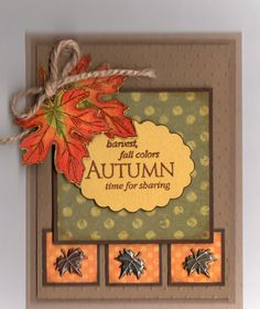 Autumn card, (Marilynv19)