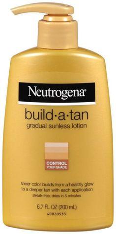 Neutrogena Build-A-Tan Gradual Sunless Tanning Ulta.com - Cosmetics, Fragrance, Salon and Beauty Gifts