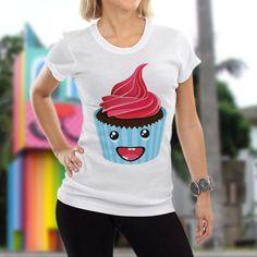 Não confunda com muffin. Camiseta CupCake – FunFlyship