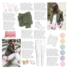 Pink is the Key by artilistic on Polyvore featuring polyvore, fashion, style, Topshop, H&M, Faith Connexion, Vans, Gucci, Panacea, Palm Beach Jewelry, Deborah Lippmann and clothing