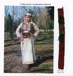 Albanian folk costumes from Elbasan area