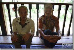 Higo (left) and Emang (right) still long for their lives back in Batang Balui.