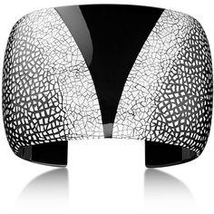Hermès Louxor Cuff Bracelet ($335) ❤ liked on Polyvore featuring jewelry, bracelets, wooden bangles, cuff bangle, cuff bangle bracelet, wooden jewelry and cuff bracelet