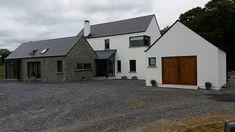 House Farmhouse Architecture, Vernacular Architecture, Architecture Plan, Cottage Design, House Design, Building Design, Building A House, Dream House Exterior, Exterior Remodel