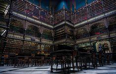 Real Gabinete Português de Leitura, Rio de Janeiro, Brasil