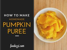 Easy step-by-step directions showing you how to make your very own Homemade Pumpkin Puree!
