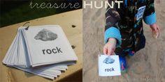 Treasure Hunt from Harvesting Kale