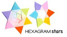 Modular Origami Hexagram Stars Tutorial ♥︎ DIY ♥︎ Paper Kawaii