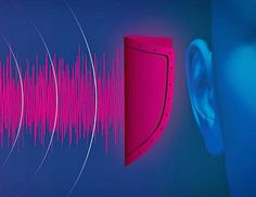 How Mercedes' 'pink noise' protects your hearing from a loud collision Pink Noise, Acoustic Design, Neon Signs