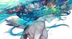 Find images and videos about art, anime and creature on We Heart It - the app to get lost in what you love. Art And Illustration, Fantasy Kunst, Fantasy Art, Neko Cosplay, Yuumei Art, Kunst Online, Anime Kunst, Boy Art, Manga Art
