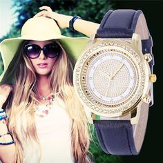 Now available @ TikiPup.com: 2016 New Women Br... Stop by and have a look here! http://tikipup.com/products/2016-new-women-bracelet-wristwatch-ladies-crystal-geneva-watches-fashion-stainless-steel-quartz-wristwatches-relojes-mujer?utm_campaign=social_autopilot&utm_source=pin&utm_medium=pin