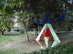 Semilla. Christian Álvarez,  Delia García,  Marlene Rocha.  Exposición Ondulosas tensulaciones, UAM Azcapotzalco.