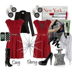 e1e92efc4bc8 Go from day to party with this holiday ensemble! #office #business # corporate