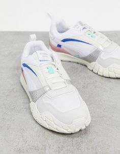 Puma kyron awakening sneakers in white. #puma #sneakers #shoes #activewear