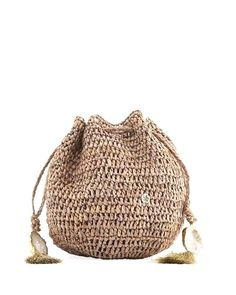 Florabella Stintino Small Crochet Beach Clutch Bag In Neutral Pattern Oh Beautiful, Travel Bags For Women, Clutch Bag, Drawstring Backpack, Neiman Marcus, Bucket Bag, Straw Bag, Flora, Luxury Fashion