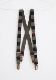 Braces with stripes