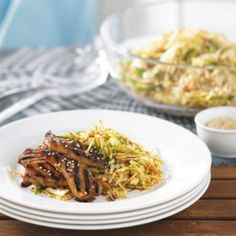 Marinated chicken with Asian coleslaw | Healthy Food Guide