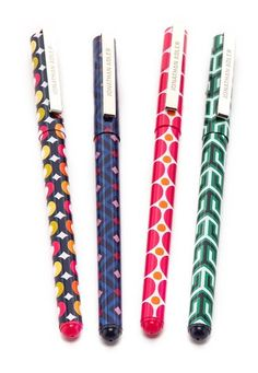 Cool hostess Gifts: jonathan adler 4-piece pen set