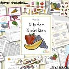 Nutrition/Food Preschool Lesson Plans Packet.... from edlah.com. There is a lot of information in this one!