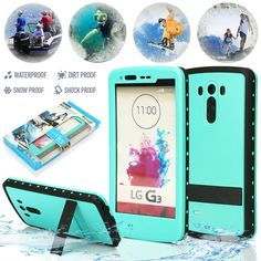 Redpepper Waterproof Shockproof Dirt Snow Proof Stand Case Cover For LG G3 Green in Cell Phones & Accessories | eBay