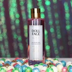 """Heyyyy pretty lady! This @dollfacebeautyofficial Clarify Balancing Tonic Toner is absolutely lovely. I've been using it in the morning after cleansing my face & before applying my serum! I'm a toner advocate- are you? My skin honestly feels so much better with it!!!  -----> """"Sweep away product residue, excess oils, dead skin cells & blemish causing bacteria from skin & pores with this powerful botanical PH balancing skin refreshment."""""""