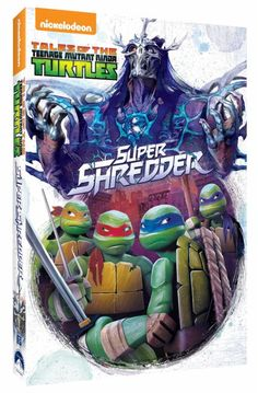 Tales of the Teenage Mutant Ninja Turtles Super Shredder DVD Giveaway