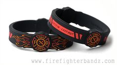 First in - Last out Designer Silicone Bracelet  #silicone bracelets, #designer bracelets, #affordable gifts, #holiday gifts, #fire, #fireman, #firefighter, #fdny, #9/11, #343