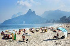 Río de Janeiro - Brasil | Playa Ipanema, Río de Janeiro | http://riodejaneirobrasil.net