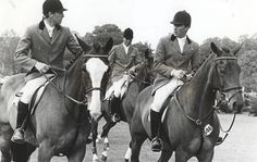 John Whitaker on Ryans Son and Michael Whitaker (Owen Gregory) at Hickstead in 1986